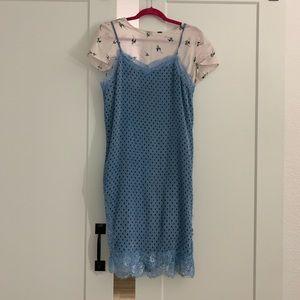 Free People Margot Slip Dress Set